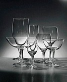 Close_up of wineglasses