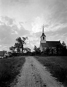 USA, Maine, Limington, Church