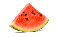 Slice of water_melon on a white background