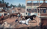 Ready For The Trot 1877 Currier & Ives 1834_1907 American