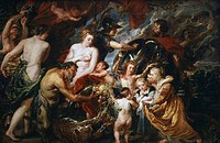 War & Peace Peter Paul Rubens 1577_1640 Flemish National Gallery, London, England