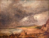 Weymouth Bay, painting by John Constable, France, Paris, Musee du Louvre