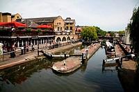 Regent´s Canal at Camden Lock, Camden, London
