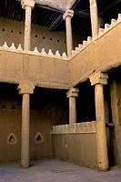 Saudi Arabia,Near Riyadh, Dir´Aiyah Village 1446 A.D., Palace Of Sa´D Bin Saud, Courtyard