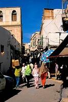 Libya, Tripoli, Medina, street scene