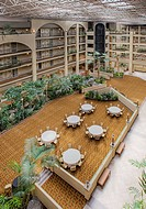 Hotel Central Interior Courtyard