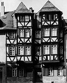 Jerusalemhaus in which Karl Wilhelm Jerusalem committed suicide, Wetzlar, Germany