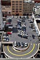 Rooftop City Parking