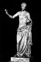 APHRODITE/VENUS.Venus of Arles. Marble, 1st century B.C. Height: 1.94 m.