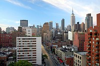 Rooftop view of Manhattan, New York City, USA