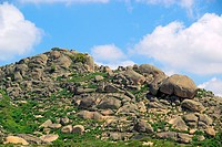 Valencia de Alcantara granite rock landscape