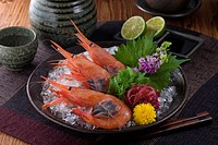 Sashimi of ama_ebi