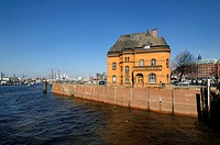 Hamburg, Germany, Harbor Police Station