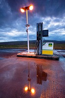 Gas station at Hrauneyjar  Iceland