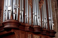 Pipe organ, Stephanskirche, Vienna, Austria