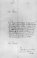 MONTCALM: SURRENDER, 1759.The last letter of the fatally wounded Marquis de Montcalm, commander of French forces in Canada, in which he agreed to surr...