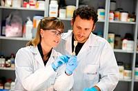 Microencapsulation and chemical preparation laboratory, Technology Research Center, Tecnalia Construction, CIDEMCO-Tecnalia Research & Innovation, dev...