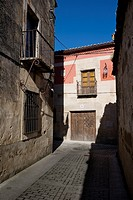 Ledesma typical street. Salamanca