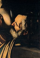 Seven Works of Mercy, by Merisi Michelangelo known as Caravaggio, 1606 _ 1607, 17th Century, oil on canvas