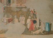 Effects of Bad Government in the City, by Lorenzetti Ambrogio, 1338 _ 1339, 14th Century, fresco