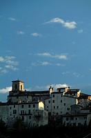 Buildings in a village, Casteldilago, Umbria, Italy