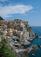 Village of Monterosso in the Cinque Terre region of Italy