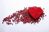 valentine day and red heart
