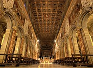 Nave of San Marco Basilica, Rome