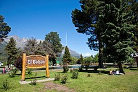 El Bolson south of San Carlos de Bariloche, Argentina