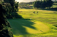 The golf course at Alyth, Strathmore, Scotland  Established 1894 originally designed by the master Old Tom Morris of St  Andrews