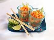 Mini salmon Tartare