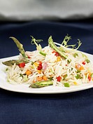 Basmati rice with vegetables