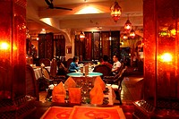 The interior view of Blud Bird Restaurant  Kunming  China