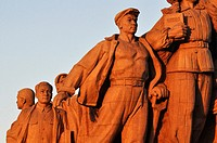Beijing (China): the Liberation of the People Statue in Tiananmen Square