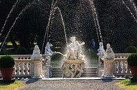 Italy, Lombardy, Lainate, Villa Litta, Galatea Fountain