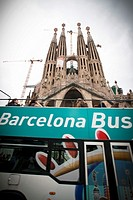 Tourist bus, Barcelona, Spain.