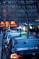 Taxis, Paris, France
