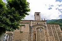 Saints Giusmeo and Matteo church, Gravedona, Como lake, Italy