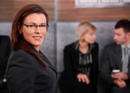 Portrait of mid_adult businesswoman