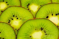 bright juicy kiwi background