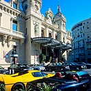 Casino and luxury cars, Monte Carlo, Principality of Monaco