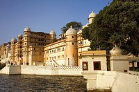 City Palace and Pichola lake,Udaipur, Rajasthan, india