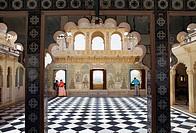 Terrace,City Palace,Udaipur, Rajasthan, india