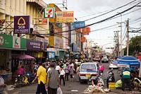 Street view in Bangkok, Thailand