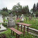 Romania, View of cemetery