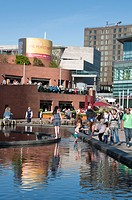 Liverpool One - shopping, residential and leisure complex  Liverpool  England