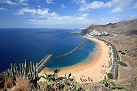 Canary Islands, Tenerife, Playa de Las Teresitas