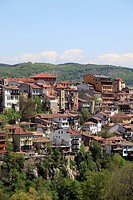Bulgaria, Veliko Tarnovo, skyline, general view.