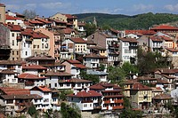 Skyline, general view, houses, Veliko Tarnovo, Bulgaria