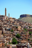 Turkey, Mardin, skyline, general view.